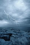 Meer und Himmel Lizenzfreies Stockfoto