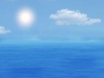Meer und Himmel Stockbild