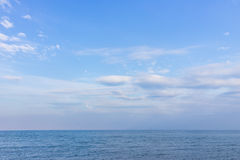 Meer und Horizont lizenzfreies stockbild