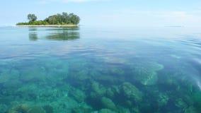 Meer und Insel Lizenzfreie Stockbilder