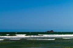 Meer und Insel stockbilder