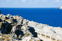 Meer und Klippe 4 Stockbild
