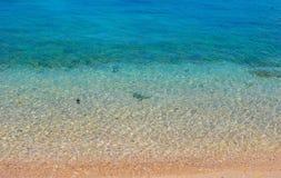 Meer und Sand Lizenzfreies Stockfoto