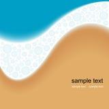 Meer und Sand Stockfoto