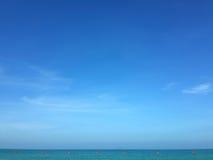 Meer und sichere Zone Stockfotografie