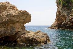 Meer und Steine Lizenzfreie Stockfotografie