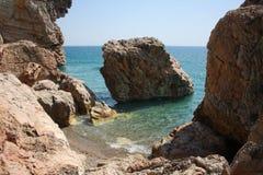 Meer und Steine Stockbild