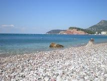 Meer und Strand Stockfoto