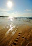 Meer und Strand in KohSamet Rayong Thailand Lizenzfreie Stockfotografie