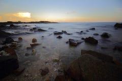 Meer und Strand in KohSamet Rayong Thailand Lizenzfreies Stockbild