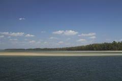Meer und Strand, Krabi, Thailand Lizenzfreie Stockfotos