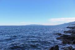 Meer und Wellen Lizenzfreies Stockfoto