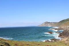 Meer und Wiesen Lizenzfreie Stockbilder