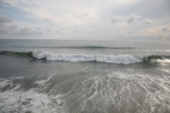 Meer und Wolken stockbild