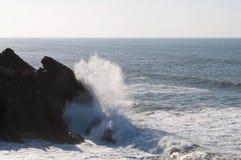 Meer und Wolken Stockfotografie