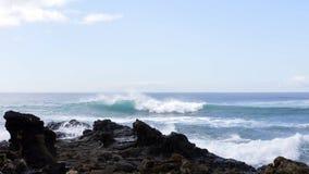Meer und Wolken im großartigen Canaria Stockbilder