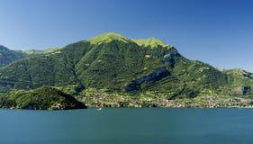 Meer van Como Italië Stock Fotografie