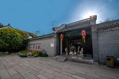 Meer van het Yangzhou het slanke Westen op de de tuinbloemen van de tuindeur Royalty-vrije Stock Foto's