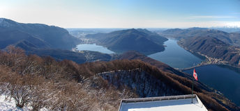 2013-meer van Lugano Royalty-vrije Stock Fotografie
