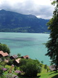 Meer van Thun Zwitserland Stock Foto's