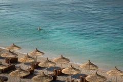 Meer von Albanien lizenzfreie stockbilder