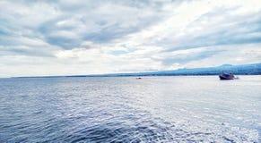 Meer von bantaeng Indonesien Stockbild
