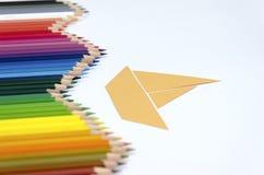 Meer von Farben Lizenzfreie Stockfotos