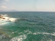 Meer von Genua, Italien stockbilder