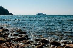 Meer von Punta-Ala stockbild