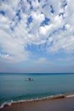 Meer von San Vito Stockbild