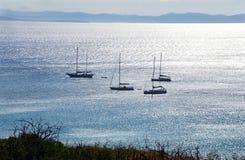 Meer von Sardinien, Sommerferien in Italien stockbild