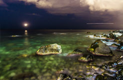 Meer von Sizilien Lizenzfreie Stockfotografie