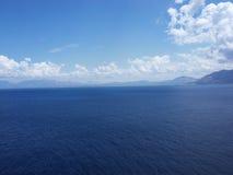 Meer von Sizilien Stockfotografie