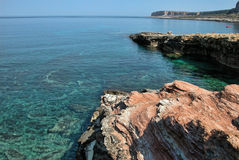 Meer von Sizilien, Italien Stockfotos