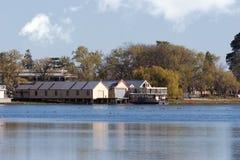 Meer Wendouree, Australië Royalty-vrije Stock Foto's