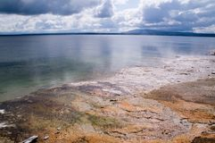 Meer Yellowstone royalty-vrije stock fotografie