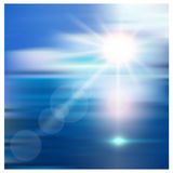 meerblick Lizenzfreies Stockbild