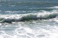 Meerblick auf der Küste von Varazze lizenzfreies stockfoto