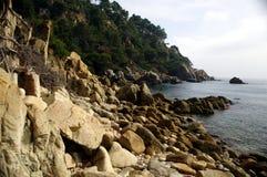 Meerblick in Lloret de Mar (Girona) 12 Lizenzfreies Stockbild