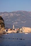 Meerblick in Montenegro Stockfotografie
