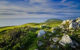 Meerblick an Pint Reyes National Seashore, Kalifornien lizenzfreies stockbild