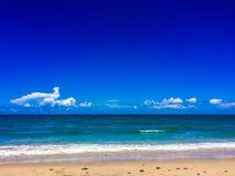 Meerblick in Süd-Florida lizenzfreie stockfotos