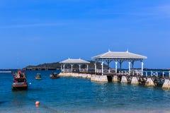 Meerblick in sichang Insel Lizenzfreies Stockfoto