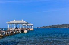 Meerblick in sichang Insel Lizenzfreies Stockbild