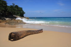 Meerblick, Surin Strand, Phuket Lizenzfreie Stockfotos