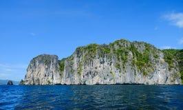 Meerblick von Coron-Insel, Philippinen stockfotos