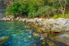 Meerblick von Phuket, Thailand lizenzfreies stockbild