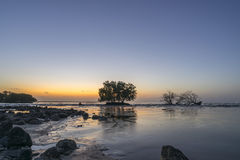 Meerblick vor Sonnenaufgang Lizenzfreies Stockbild