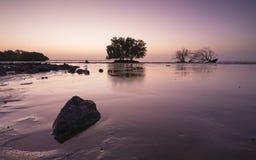 Meerblick vor Sonnenaufgang Lizenzfreie Stockfotografie