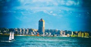 Meere und Berge Stockfotografie